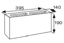Wymiary pustak betonowy konstrukcyjny CJ BLOK BBK-14