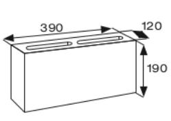 Wymiary pustak betonowy konstrukcyjny CJ BLOK PBK-12