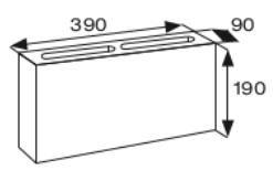 Wymiary pustak betonowy konstrukcyjny CJ BLOK PBK-9