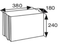 Wymiary bloczek keramzytowy akustyczny CJ BLOK BL AQ-18g