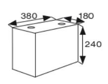 Wymiary bloczek keramzytowy akustyczny CJ BLOK BL AQ-18g2