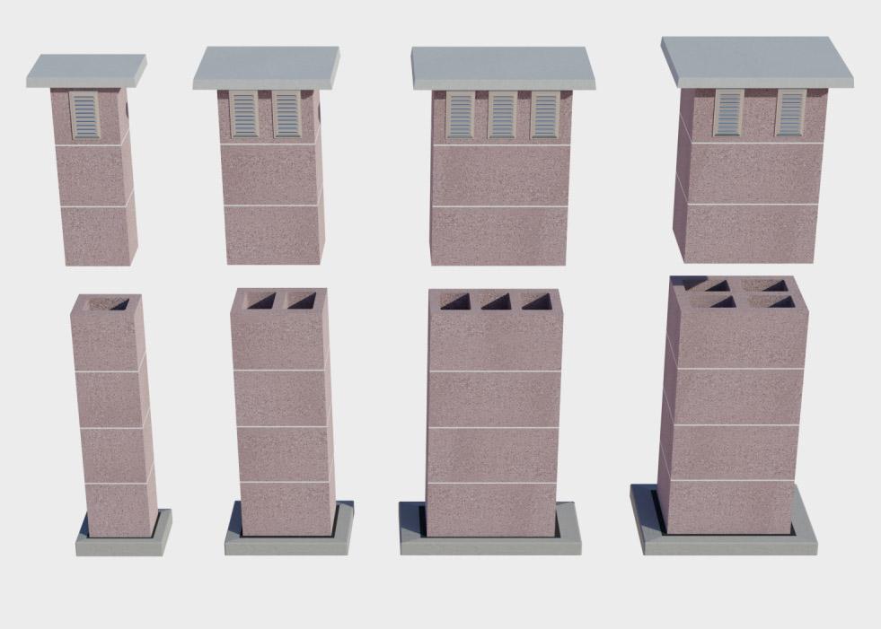Systemy kominowe wentylacyjne CJ Blok