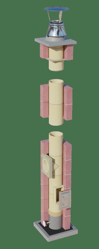 System kominowy ceramiczny CJ Blok Energo Keramic
